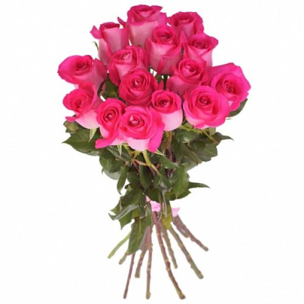 15 роз Топаз