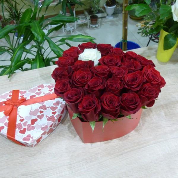 Одна на миллион 25 роз