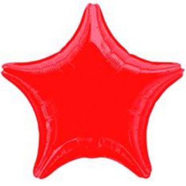 Звезда металл. красная