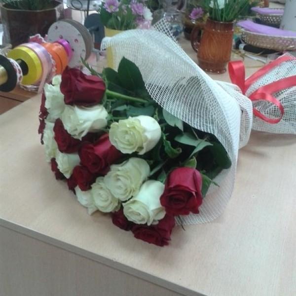 Арлекино 21 роза